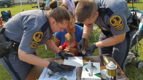 State Police fingerprinting kids
